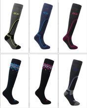 Длинные шерстяные Лыжные носки для женщин и мужчин очень теплые