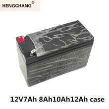 12V7Ah 8Ah10Ah12Ahเปลี่ยนLead Acid Lithiumแบตเตอรี่ไฟฟ้าSprayerพลาสติกพิเศษ18650กล่องสีเขียวสีดำ