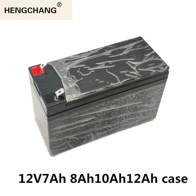 12V7Ah 8Ah10Ah12Ah استبدال الرصاص الحمضية لحقيبة بطارية ليثيوم رذاذ كهربائي خاص البلاستيك 18650 صندوق تخزين أخضر أسود
