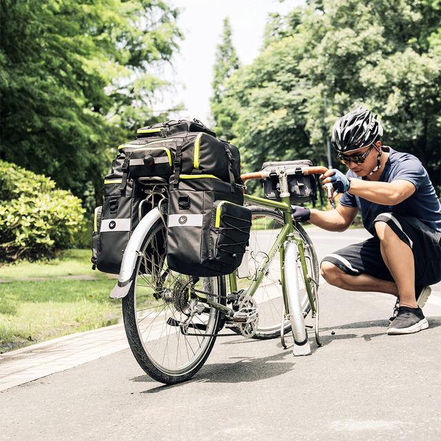 Mountain Road Bicycle Bike 3 in 1 Trunk Bag