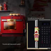 2 шт. рождественские Мультяшные перчатки для микроволновой печи посудомоечной машины, крышки дверных ручек, рождественские украшения для д...