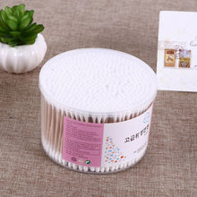 500PCS Bamboo Cotton Swab Wood Sticks Soft Cotton Buds cleaning of ears Tampons Microbrush Cotonete