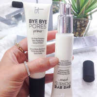 Primer Makeup Moisturizer It Cosmetics Pores Base Face Oil-Free Poreless Skin-Perfecting Serum Primer Smooth Soft Skin Make Up
