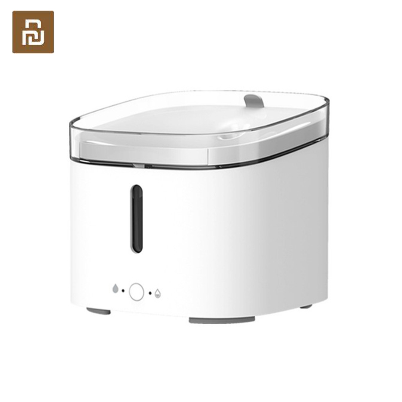 Original Smart Automatic Pets Water Drinking Dispenser Fountain Dog Cat Pet Mute Drink Feeder Bowl For Mijia APP
