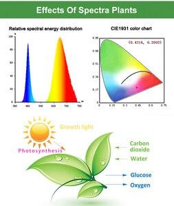 Image 5 - Grow lights,220V 75W 152LED folding 2 Mode,  Adjustable Gooseneck Sunlike Full Spectrum & Red/Blue Spectrum Plant Growing lights