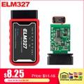 ELM327 WiFi Bluetooth V1.5 PIC18F25K80 чип OBDII диагностический инструмент IPhone/Android/PC ELM 327 V 1,5 Авто сканер OBD 2 Код считыватель - фото