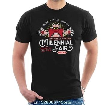 Gedruckt camiseta Chrono Trigger Millennial Fair männer T-Shirt 100% baumwolle frauen t-shirt