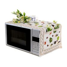 Kitchen-Appliance-Cover Oven Microwave Modern Protector-Decorative Cotton-Machine Dustproof