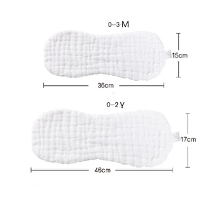 Image 5 - 2Pcs 12ชั้นถั่วลิสงผ้าอ้อมเด็กผ้าพันคอซักผ้าทารกแรกเกิดผ้านุ่มผ้าอ้อม