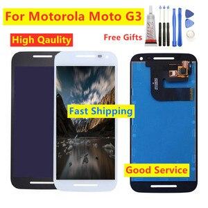 For Motorola moto g3 XT1550 XT1543 G 3 XT1540 xt1541 xt1544 Touch Screen Digitizer LCD Display Assembly For Moto G3 Repair Parts
