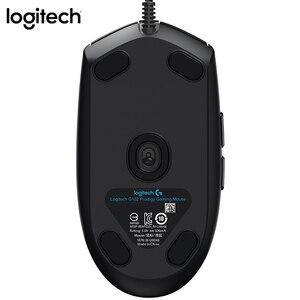 Image 3 - Logitech G102 Mouse Da Gioco 8000DPI RGB Macro Programmabile Meccanico Bottoni Ha Fissato il Mouse per PUBG/Overwatch/LOL Giochi mouse