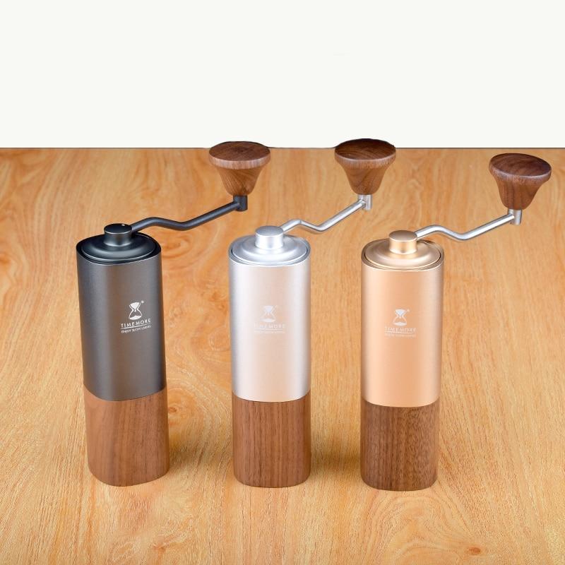 Timemore chestnut g1 lidar com moedor de café aerolite núcleo moagem aço portátil super manual moinho de café dulex rolamento