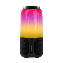 Velev v03 alto falante bluetooth sem fio, alto falante com rgb, lâmpada de mesa, à prova d água ipx6, luz led inteligente, reprodutor de música, áudio