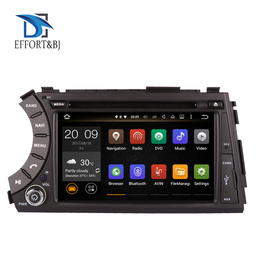 Android 9.0 Octa Core Car GPS Navigation with BT For SsangYong Kyron/Actyon/Actyon/Tradie/Korando 2005-2019DVD Multimedia Player image