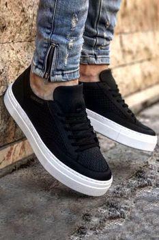 Chekich CH015 BT Black Men Sneakers chekich ch254 bt 308 yellow navy men s sneakers