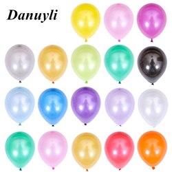 20/50/100 pçs 5 polegada globos ouro pearlescent látex balões mini preto festa de aniversário do casamento do chuveiro do bebê decorações crianças fornecimento