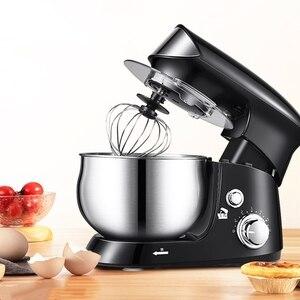Chef Machine 6-Speed Dough Hand Mixer Egg Beater Food Blender Multifunctional Food Processor Ultra Power Electric Kitchen Mixer