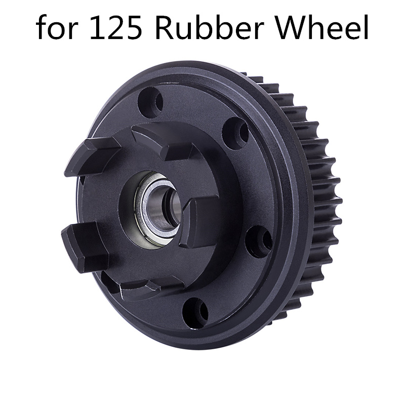 2Pcs 5M50T Synchronous Gear Electric Skateboard Direct Drive Gear Adapter for 125 Rubber Wheel Skateboard Accessories