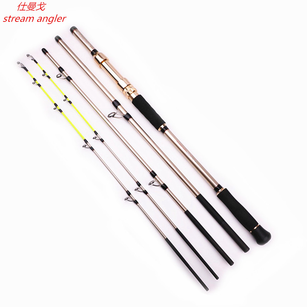 Boat Rod Superhard Carbon Sea Fishing Rod H XH Two Tips Power Metal Accessories Big Fish
