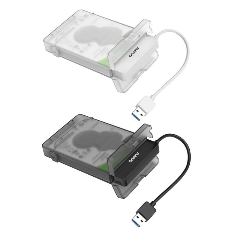 MAIWO K104 2.5 inch USB 3.0 SATA HDD Box 3TB Hard Disk Drive Enclosure Case Mobile Enclosure Case Box for Windows Mac OS Linux