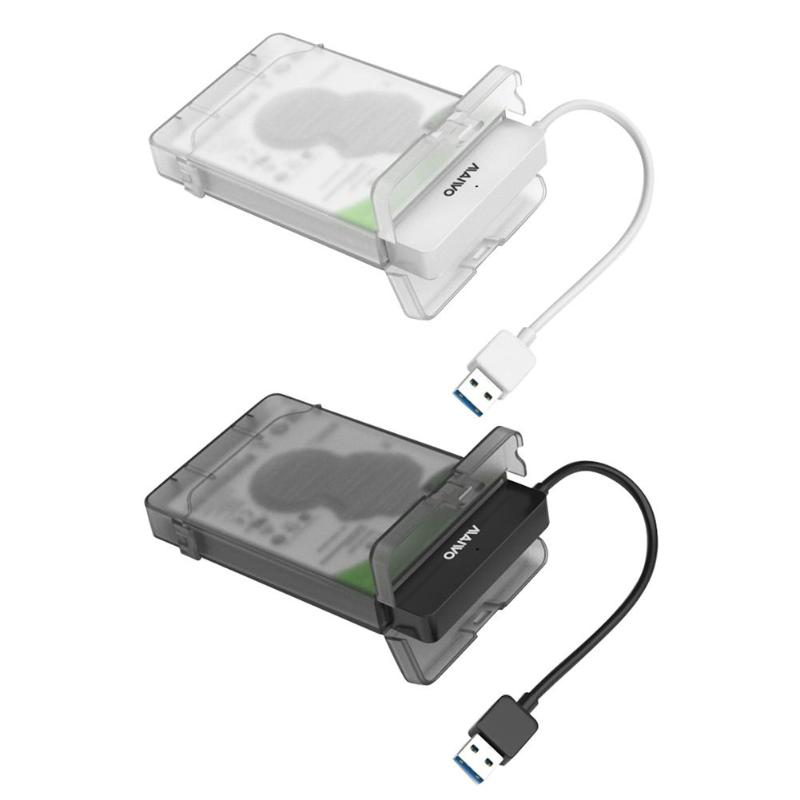 MAIWO K104 <font><b>2.5</b></font> <font><b>inch</b></font> USB 3.0 <font><b>SATA</b></font> <font><b>HDD</b></font> <font><b>Box</b></font> 3TB <font><b>Hard</b></font> Disk <font><b>Drive</b></font> Enclosure Case Mobile Enclosure Case <font><b>Box</b></font> for Windows Mac OS Linux image
