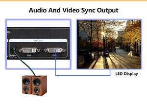 Image 5 - P3.9 wewnętrzny ekran led kontroler wideo MVP300 z TS802 linsn sygnał wyjścia led DVI/VGA/wejście HDMI