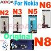 Originale Per Nokia 3 N3 TA-1020 TA-1028 TA-1032 TA-1038 per il Nokia 5 n5 6 N6 8 N8 Display LCD Touch Screen Digitizer Assembly