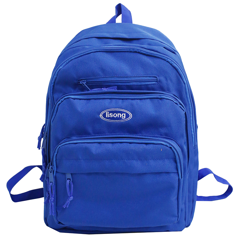 Trendy Double Shoulder Backpack For Men And Women Fashionable Oxford Cloth Bag Leisure Large School Backpack For Teenage Girls