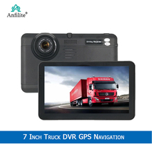 7 Inch Android Bluetooth Wifi Quad-Core 1.3Ghz Gps Navigatie 1080P Camera Recorder Voertuig Gps Navigator 1080P Record Auto Dvr