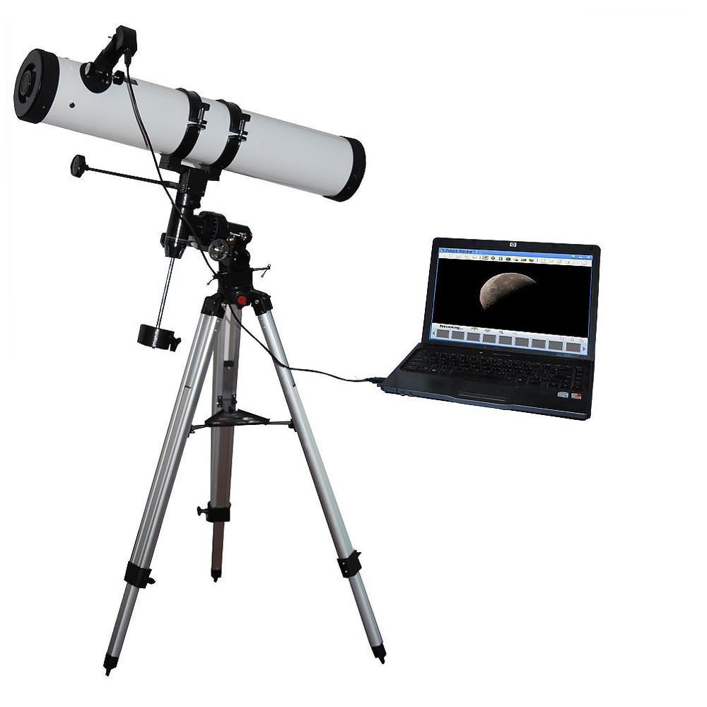 New 0.35MP Telescope Electronic Eyepiece Digital Camera Lens W/ USB Port And Image Sensor For 0.96