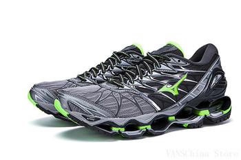 Hot sprzedaży oryginalny Mizuno Creation Wave Prophecy 7 profesjonalne męskie buty buty sportowe Mizuno rozmiar Eur 40-45 tanie i dobre opinie Trudno groud (hg) Buty piłkarskie RUBBER Średnie (b m) Betonowej podłodze Dla dorosłych Początkujący Mesh (air mesh)