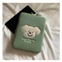 Tablet Case Laptop iPad Korean 11inch Bear Cute Fashion for Girl Inner-Bag Embroidery