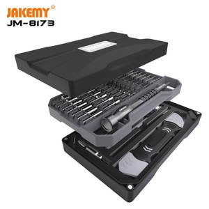 Repair-Tool-Box-Set Screwdriver Improvement Professional JM-8173 Home Diy-Repair Multi-Layer-Design