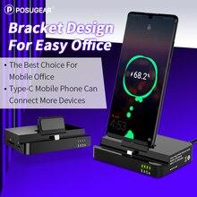 Posugear Тип C USB кабель для передачи данных телефон зарядное устройство док-станция для samsung Dex станция huawei mate 30 P30 Pro Xiaomi