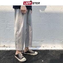 Harem Pants Streetwear Harajuku Loose Male Men Korean Casual Mens Summer LAPPSTER Wide