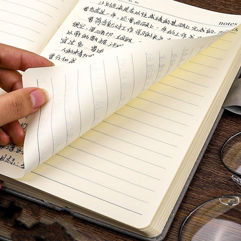 360 страниц супер толстый A5 дневник ежедневный бизнес офисный Рабочий ноутбук простой толстый колледж офисный Дневник Школьные принадлежности 3