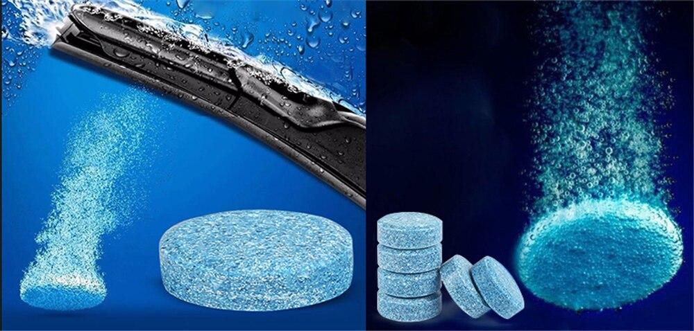 10 bruistabletten auto-onderdelen effen ruitenwisser fijne glas water wisser voor Hyundai CCS NEOS-3 Accent SR HND-4 Blauw- zal ik-blauw