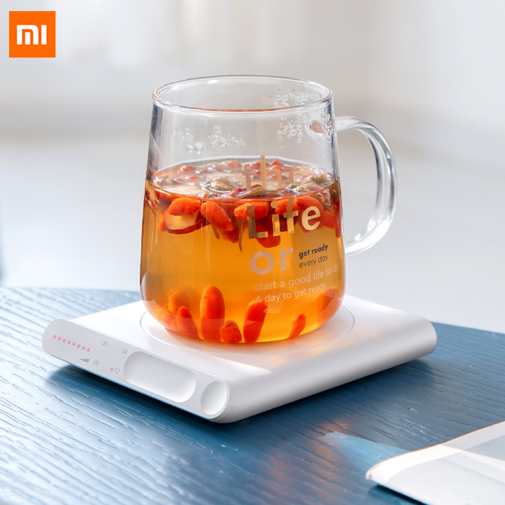 Xiaomi Mijia Mini Heating Coasters USB Charging Warmer Heat Base 3 Levels Of Adjustment Constant Temperature For Smart Home Use(China)