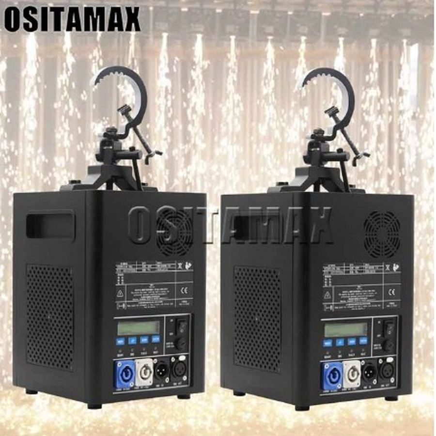 Sparklar Fall 400w Cold Spark Pyrotechnic Simulator Dmx Control Sparktacular FX Machines 400w Fall Sparkling Machine For Events