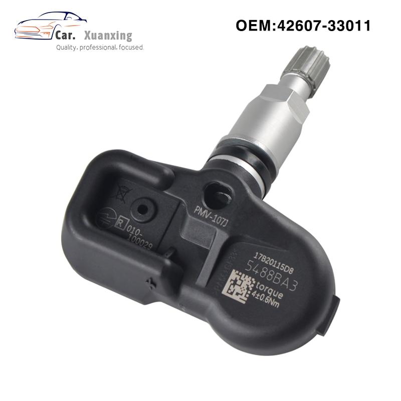 4Pcs OEM 4260733011 PMV-107J Tire Pressure Sensor Monitoring System TPMS 315MHz For Lexus CT ES RX LS LX  42607-33011