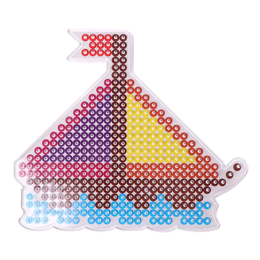 5mm Hama Beads Fuse Beads For Kids Craft Fuse Beads Puzzle Traffic Pegboards Educational Toys