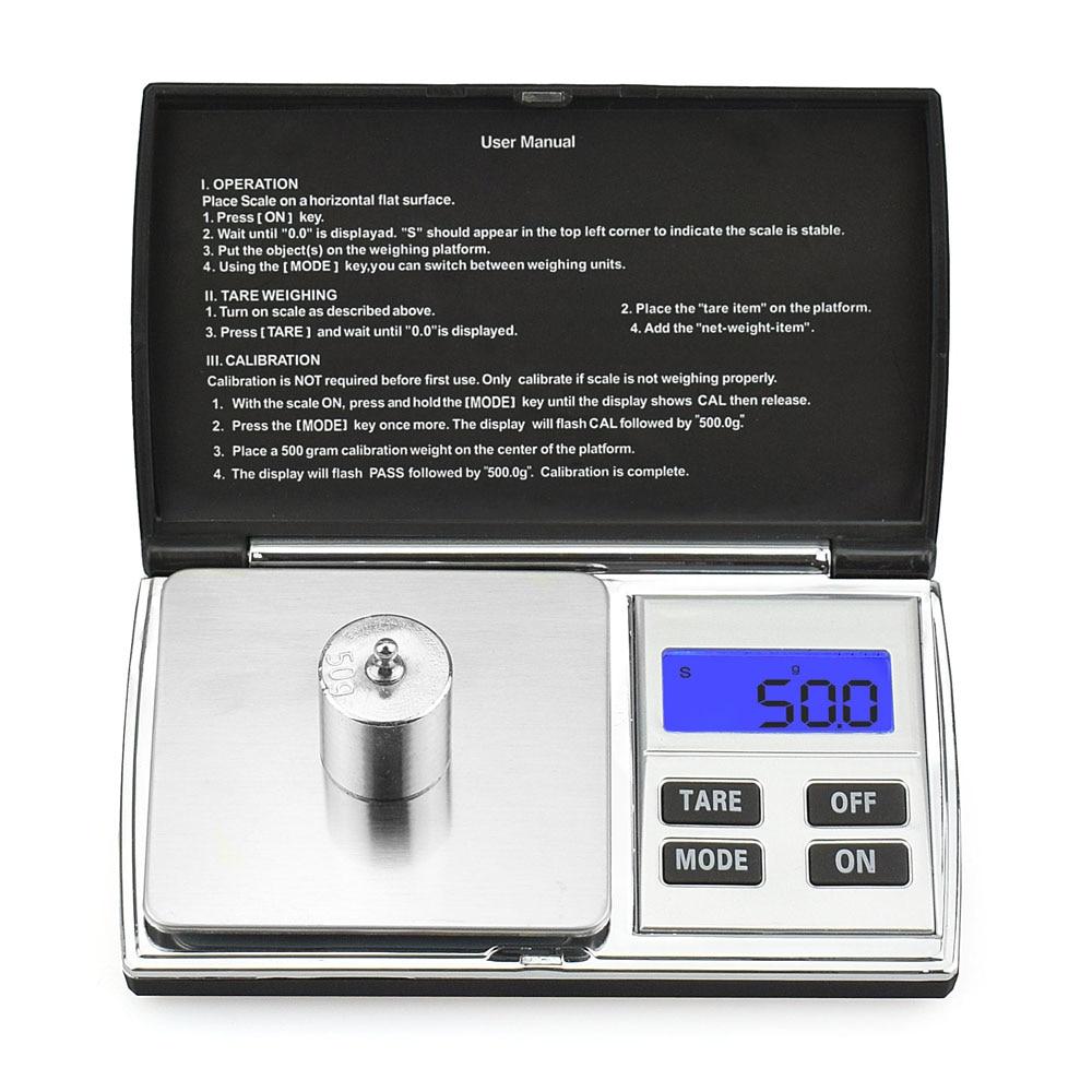 NEWACALOX 500g x 0.01g Básculas digitales de precisión para joyas - Instrumentos de medición - foto 2