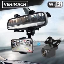 Wifi Car Reverse Camera Wireless Waterproof 1080P 170° Auto Parking Camera 12V 24V DVR Dashcam Rearview Back Up Reversing Lens