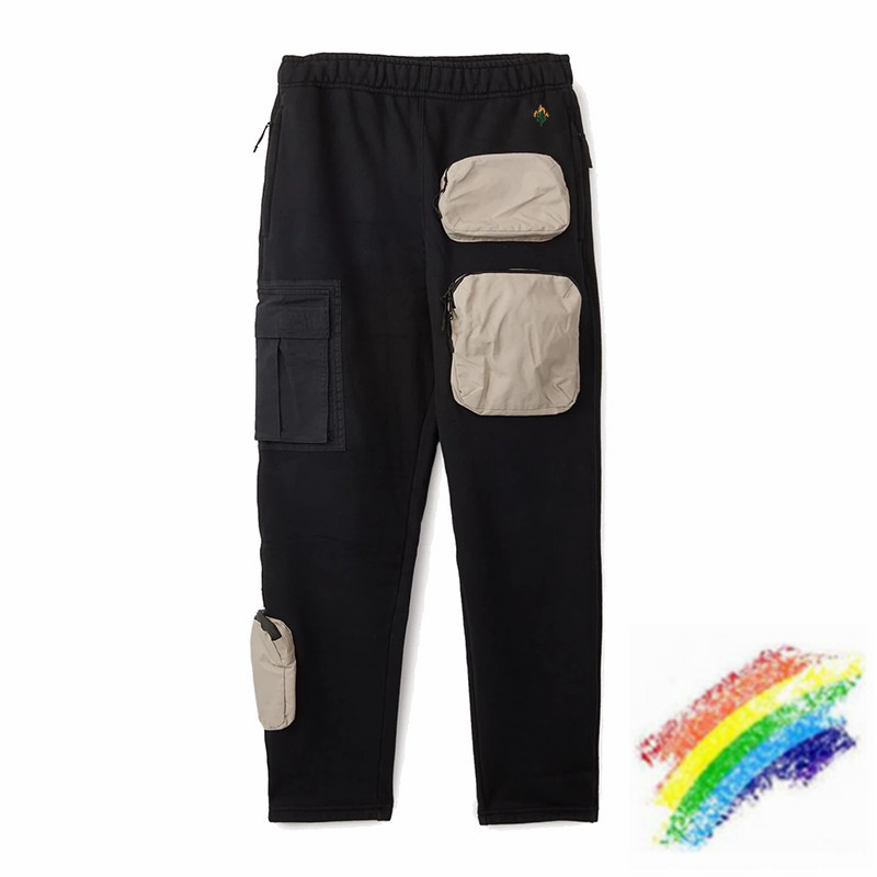 2020ss Travis Scott Cactus Jack Cargo Sweatpants Women Men 1:1 High Quality Pants Travis Scott Drawstring Joggers Sweatpants