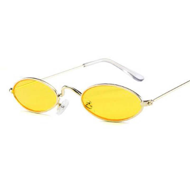 90s สีแดงแว่นตาแคบขนาดเล็กรอบแว่นตากันแดด VINTAGE Designer Tiny กรอบเลนส์แว่นตา Mens Shades cool