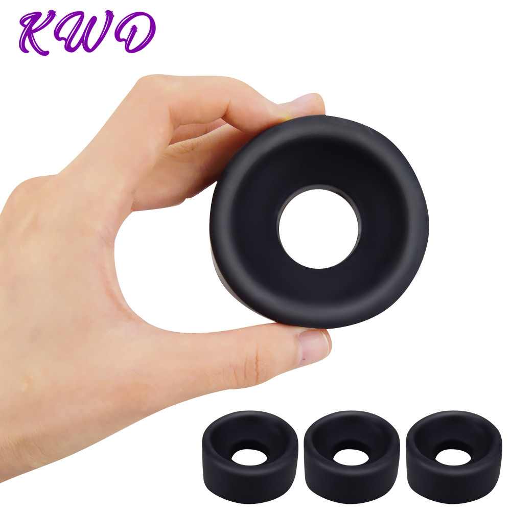 Male Penis Pump Rings Penis Vacuum Pump Cylinder Accessory Different Size Silicone Sleeves For Penis Pump Sex Toys For Men