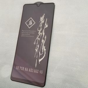 Image 3 - Protecteur décran pour Samsung Galaxy A32, verre trempé, oléophobe, colle complète