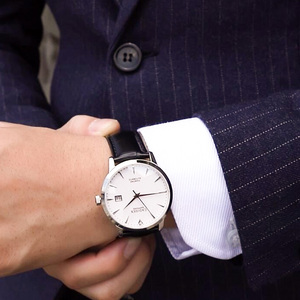 Image 5 - CADISEN Men Watches Automatic Mechanical Wrist Watch MIYOTA 9015 Top Brand Luxury Real Diamond Watch Curved Sapphire Glass Clock
