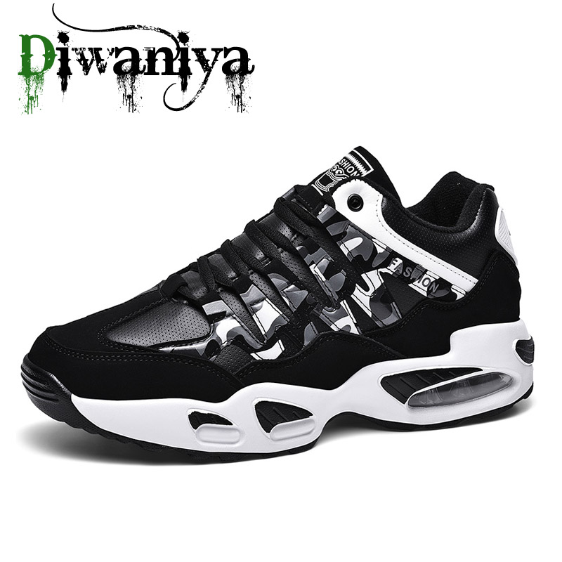 New Brand Designer Sport Running Shoes Air Cushion Lightweight Breathable Sneakers Spring Fashion Women Men Running Shoes Warm