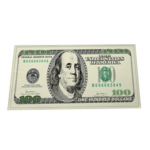 100 Dollar Bill Door Mat Rug Rectangle